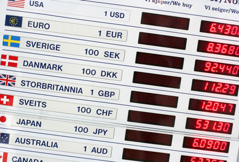 Forex currency rates